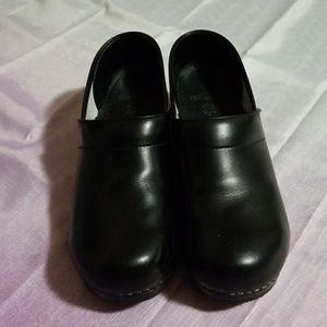 Dansko Black Clogs Size 43